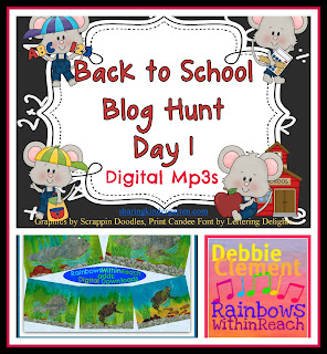photo of: Back-to-School Blog Hunt Button Day 1 with RainbowsWithinReach