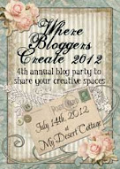 Come and join in! Where Bloggers Create