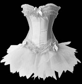 Burlesque Corset with tutu skirt