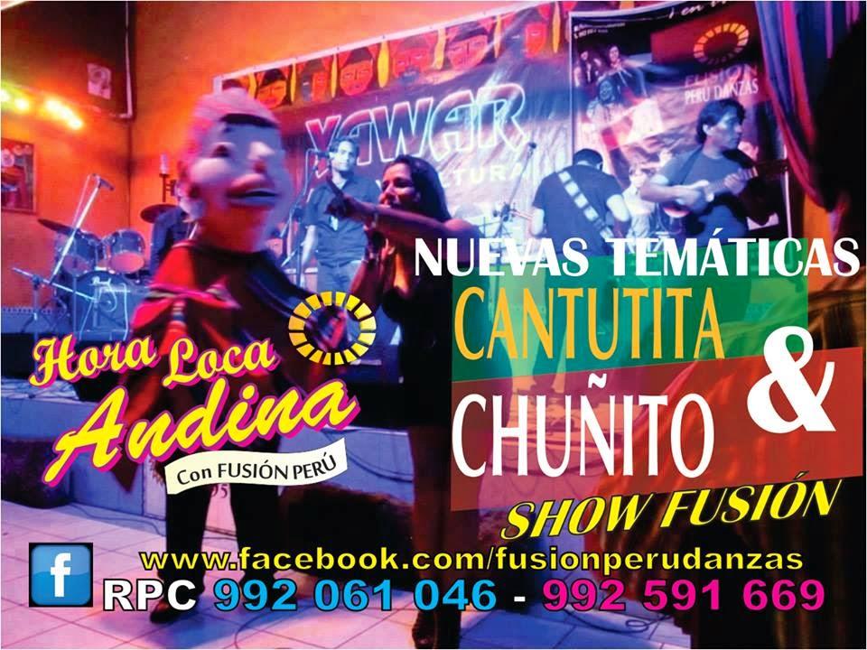 HORA LOCA ANDINA !!! SHOW RENOVADO 2016 ♥