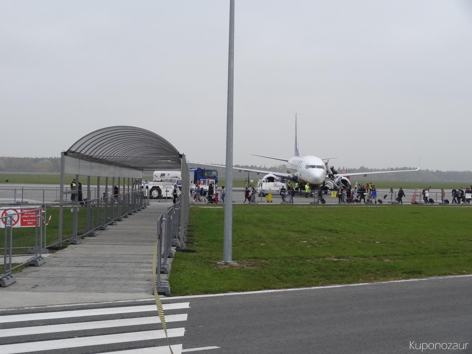 Lotnisko Warszawa Modlin oczekiwanie na samolot Ryanair