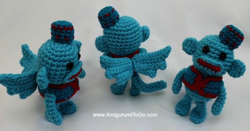 Flying Sock Monkey ~ Amigurumi To Go