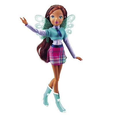 TOYS : JUGUETES - WINX CLUB  Fairy School - Aisha | Muñeca - Hada  Producto Oficial - New TV Series 7 | Giochi Preziosi | A partir de 3 años Comprar en Amazon España