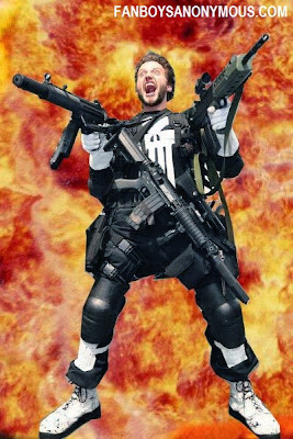 funny napalm explosion punisher cosplay photo
