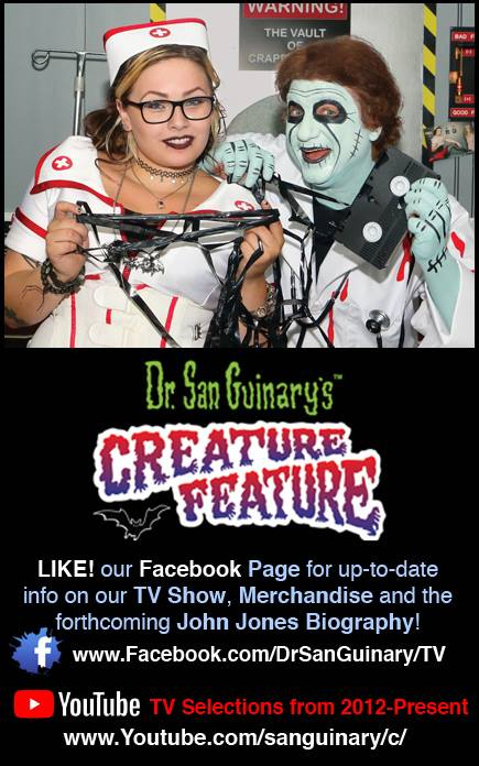 Dr. San Guinary's Creature Feature