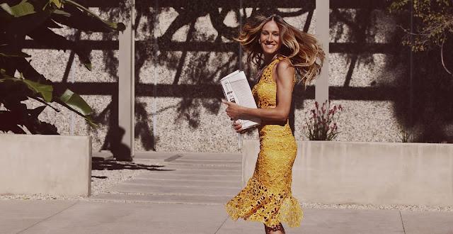 Maria Valentina Lookbook 2013 featuring Sarah Jessica Parker