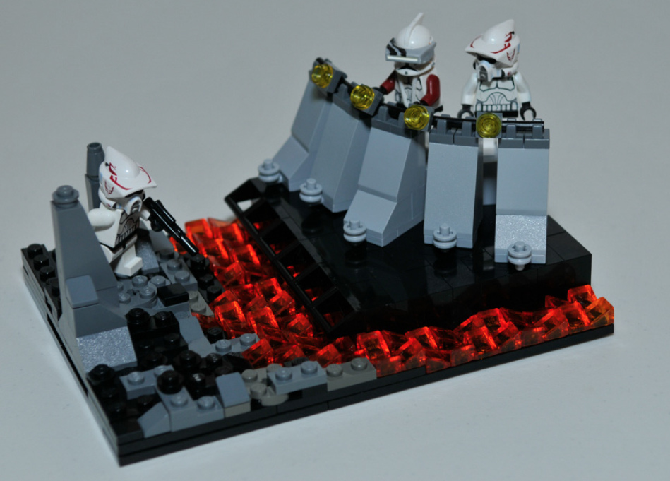 how to make a lego star wars moc