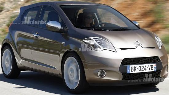 Notice - Global Super Car News: Нов Citroen C1 в Женева 2012