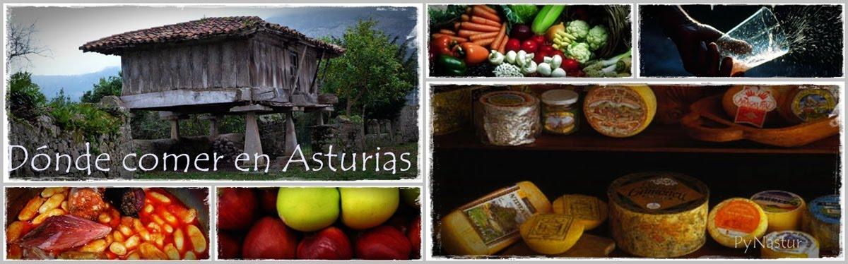 Dónde Comer en Asturias
