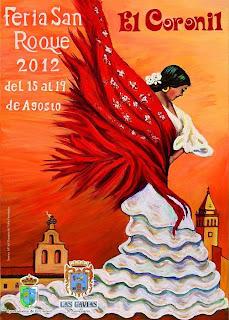 El Coronil - Cartel de Feria 2012 - Rosario del Valle Fernández