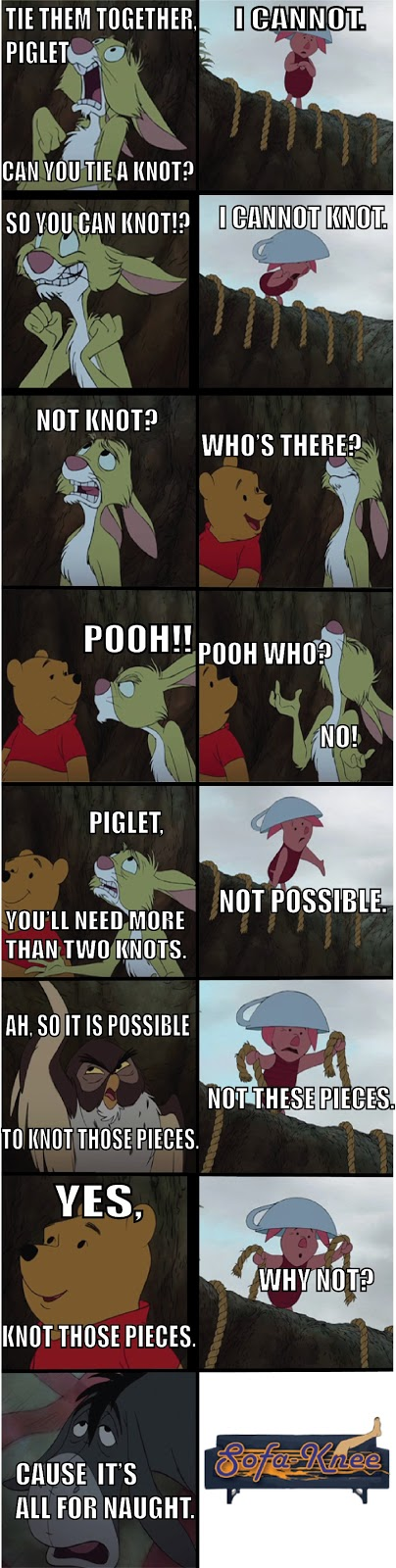 Winnie the pooh knot puns image