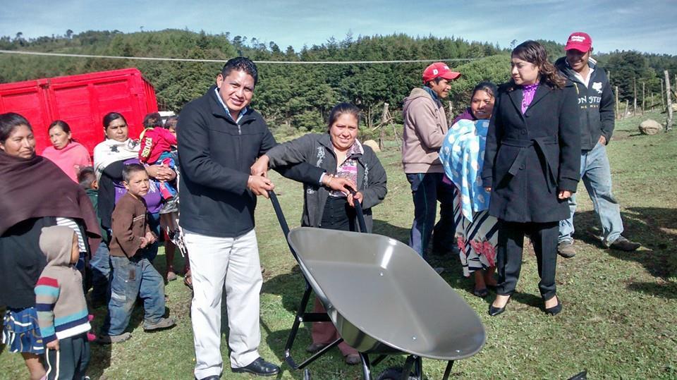 Coatepec y la region habitantes de comunidades de for Herramientas de campo