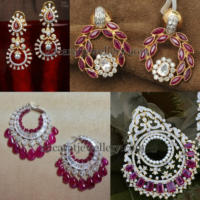 Opulent Floral Diamond Earrings