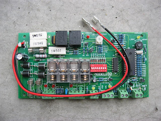 D Control Board For Sliding Gate System on Automatic Sliding Gate Motor Wiring Diagram
