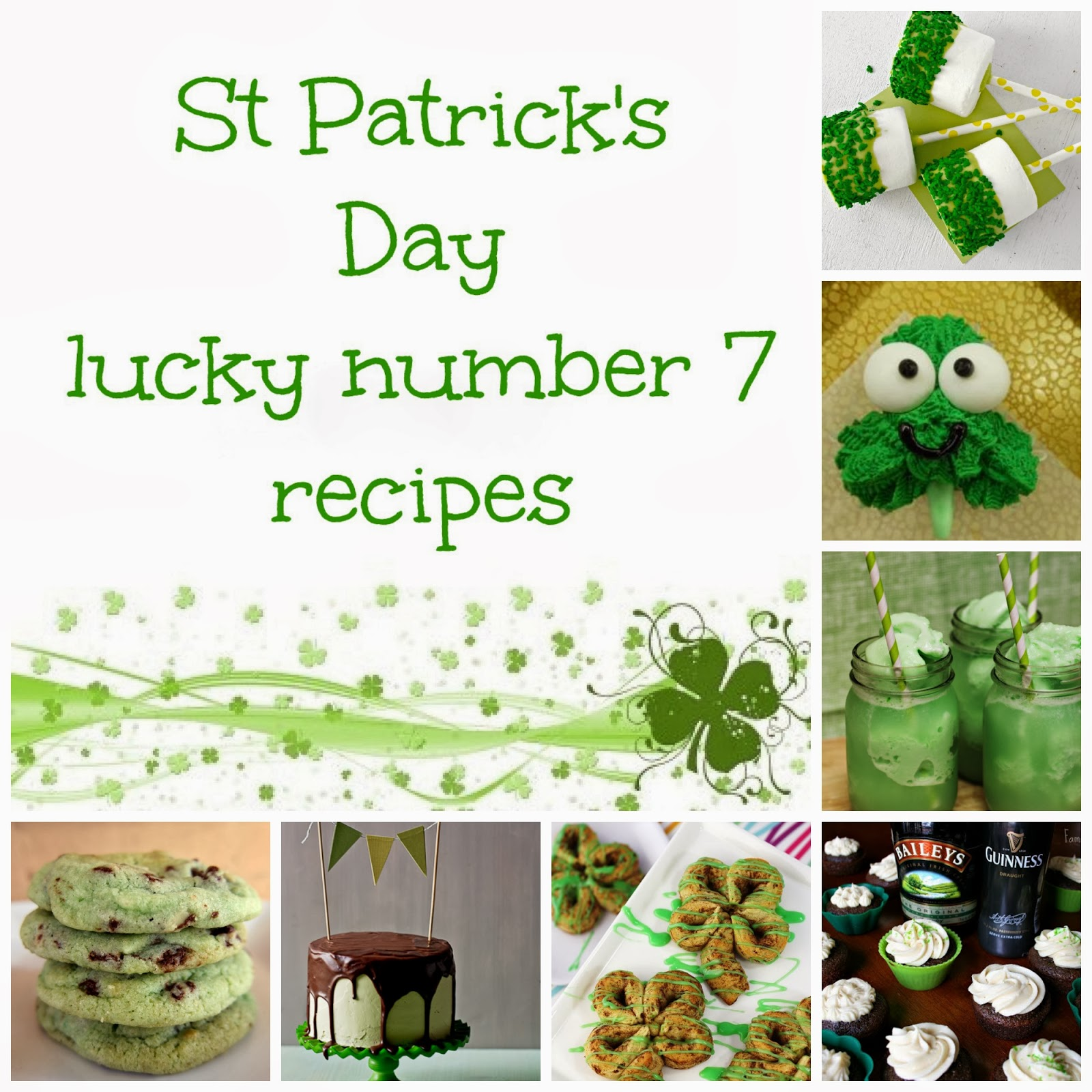 St Patrick's Day lucky number 7 recipes