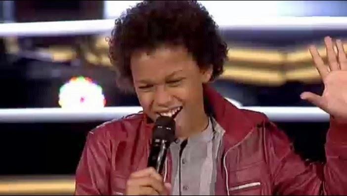 David García La voz kids