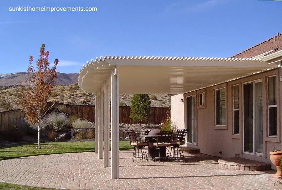 Arquitectura de casas cubiertas de aluminio para los - Cubiertas para patios ...