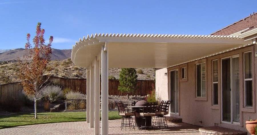 Arquitectura de casas cubiertas de aluminio para los - Cubiertas para casas ...