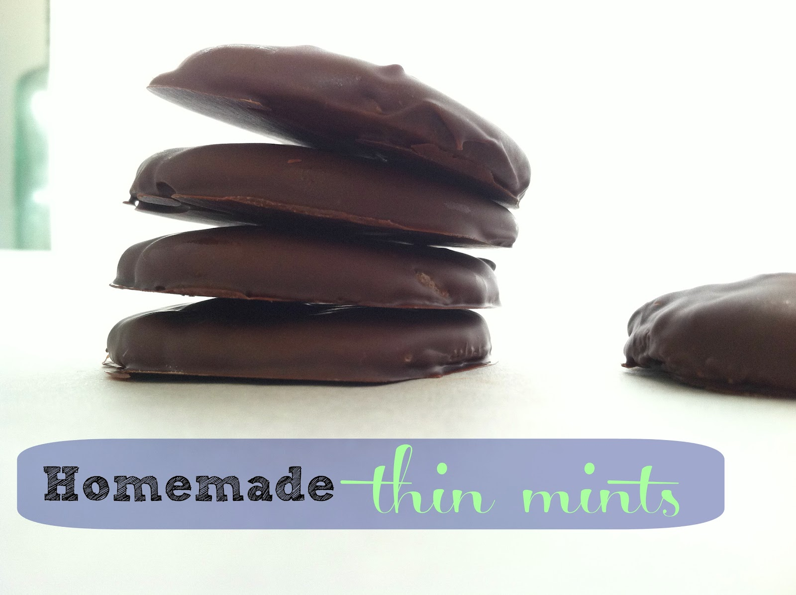 ... thin mints make homemade thin mints homemade and all natural thin mint