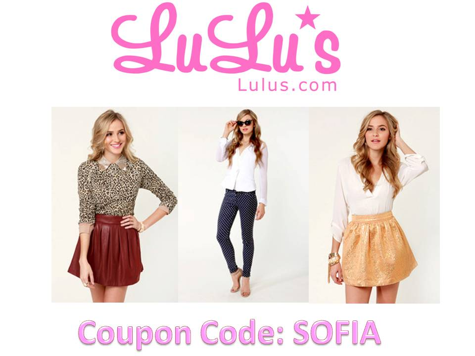 Lulu's coupon code 2018