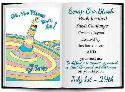 July Book Inspired Stash Challenge