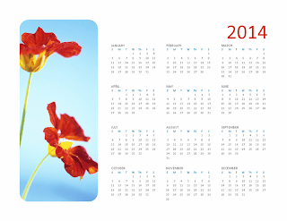 Your own 2014 photo calendar, Publisher