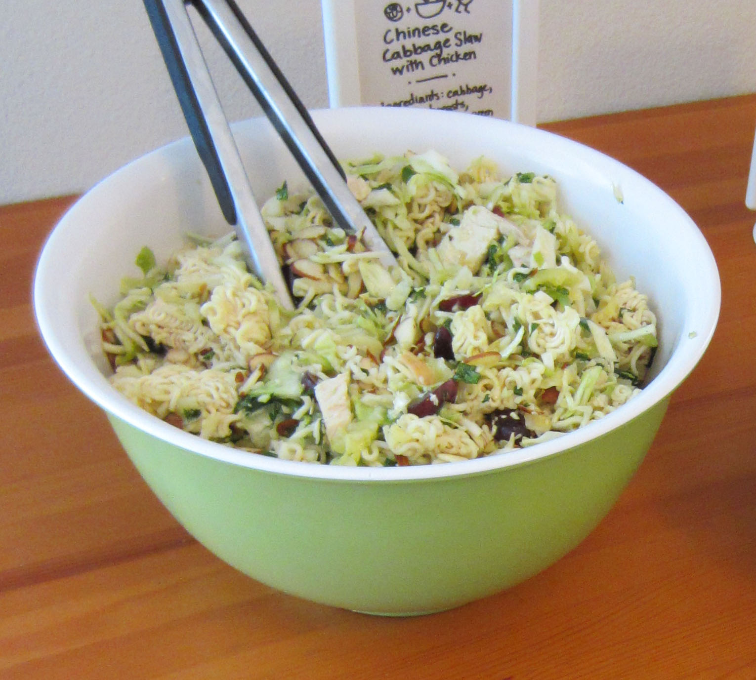 ... of green cabbage medium size finely shredded about 4 cups 2 cup cooked