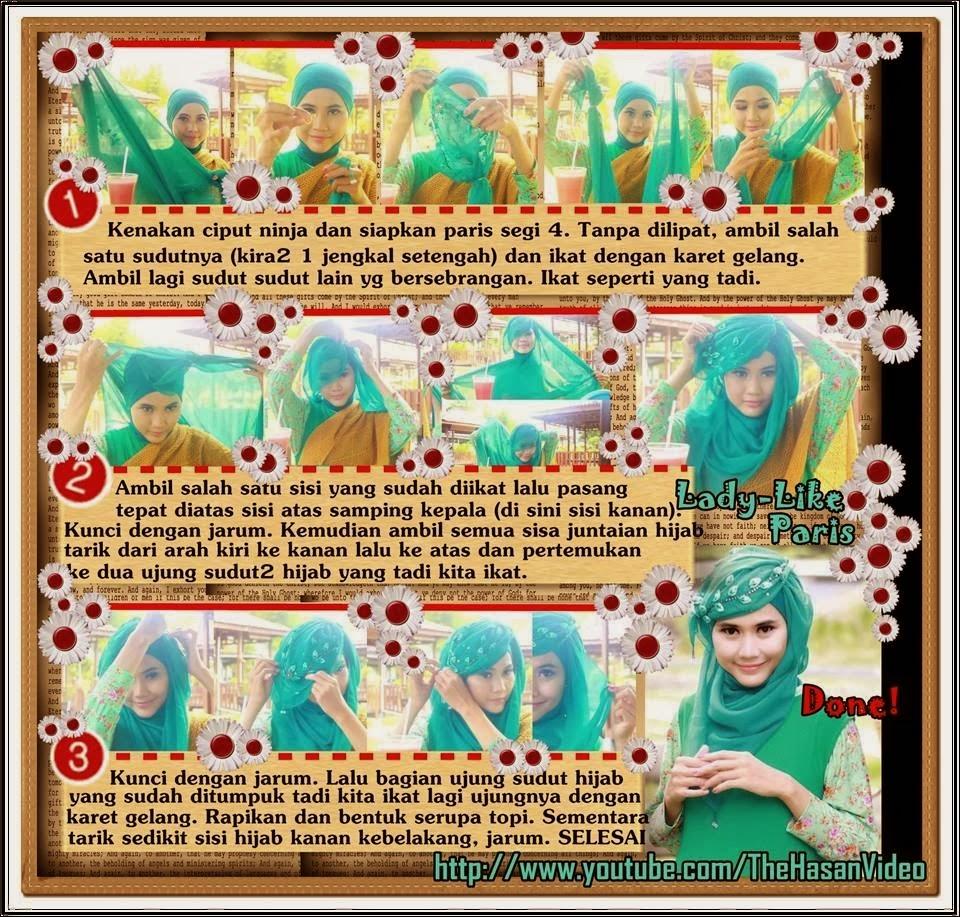 Tutorial Jilbab Untuk Hijaber Indonesia Tutorial Hijab Modern