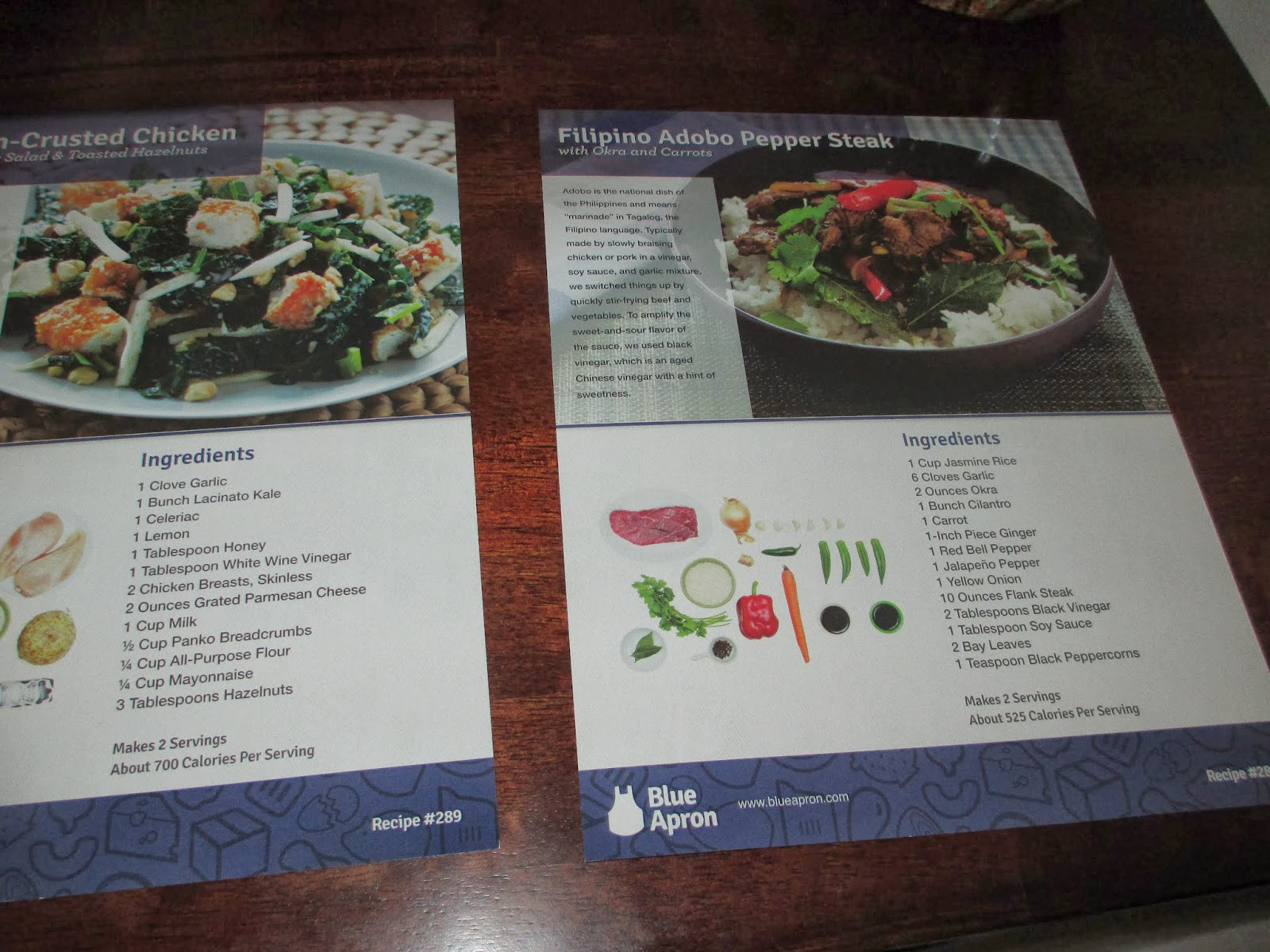 Blue apron ice packs