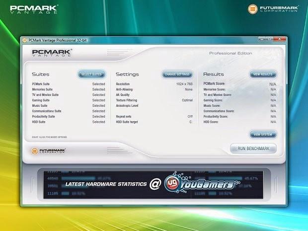 PCMark mede o desempenho do seu PC