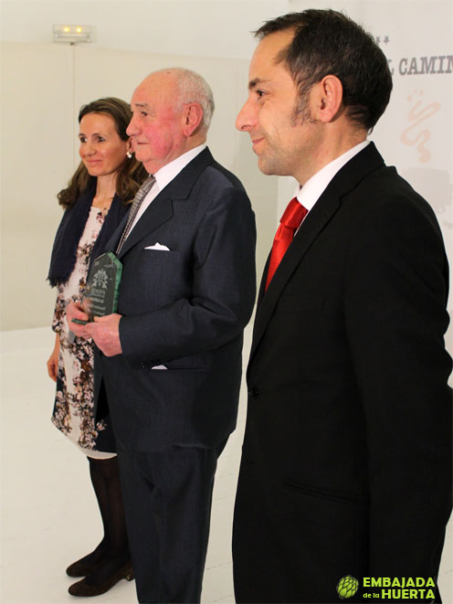 Manuel Subiza de Chocolates Subiza. II edición de los Premios La Capilla. Lo mejor de la Gastronomía Navarra