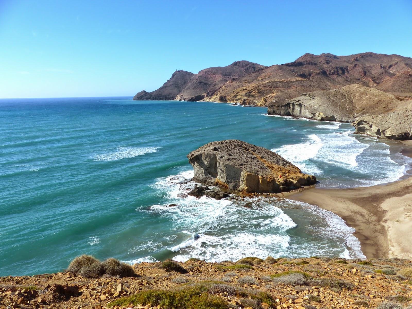 10 hiking and walking routes in the cabo de gata nijar for Cabo de gata spain