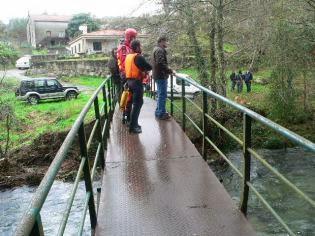 Continuam as buscas pelo jovem desaparecido no Rio Âncora
