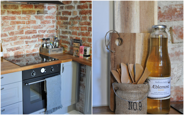Shabby charm: grått lidingø kjøkken fra ikea