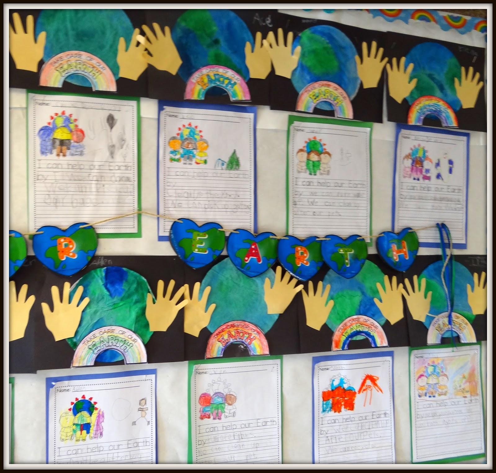 Scrapbook ideas kindergarten - Earth Day Activities We Did In My Kindergarten Class This Week