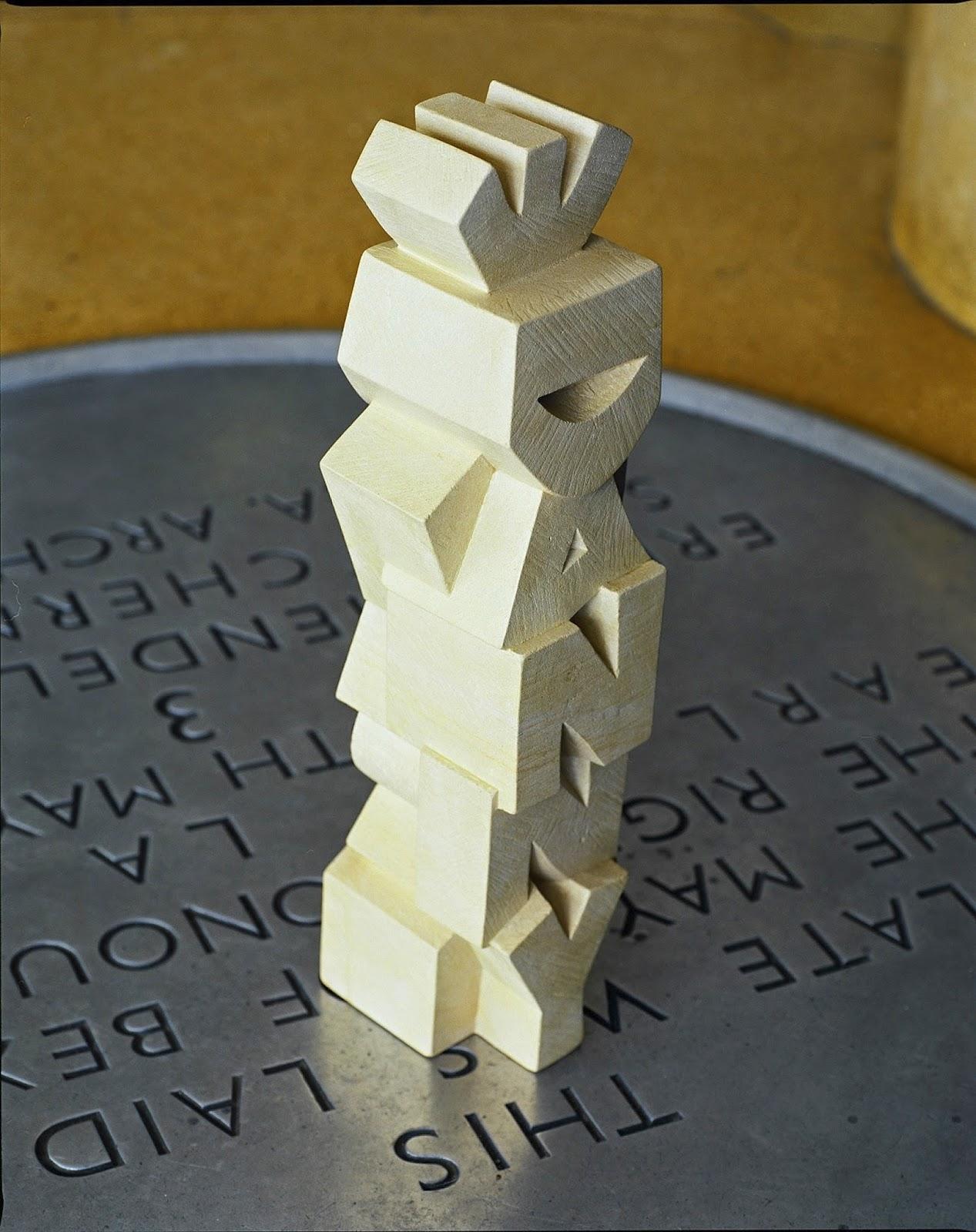 The Love Monolith © Concrete Editions, Gary Breeze, letter cutter, sculptor, De La Warr Pavilion,West Dean College, Beehive Yard,Caen limestone