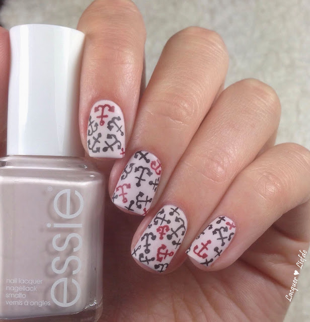 Essie Urban Jungle Anker Nail Design