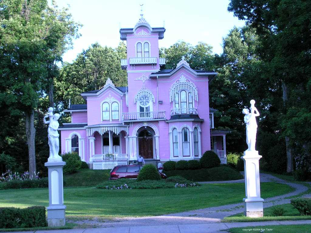 Luxury House Pink Best Pic