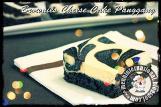 Cara Membuat Brownies Cheese Cake Panggang Istimewa