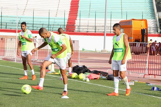 تحضيرات المنتخب الوطني لمباراة مالي :
