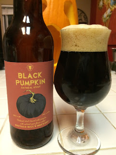Buffalo Bill Black Pumpkin Oatmeal Stout 1