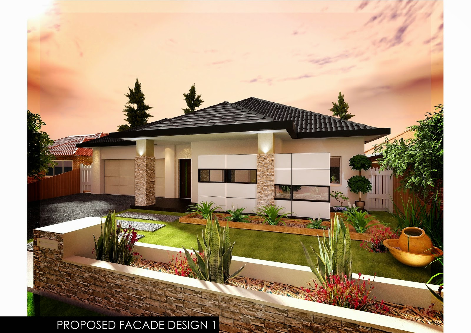 Interior Design By Kevin To Australian Single Storey House