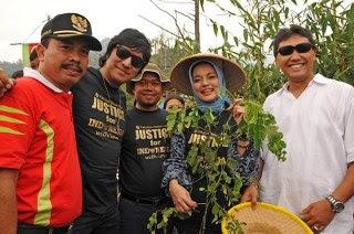 Dr. Yulkarnain harahab, Dosen Marissa Haque, Ikang Fawzi, Farchan PPP Kaliurang, Camat Kaliurang, Y