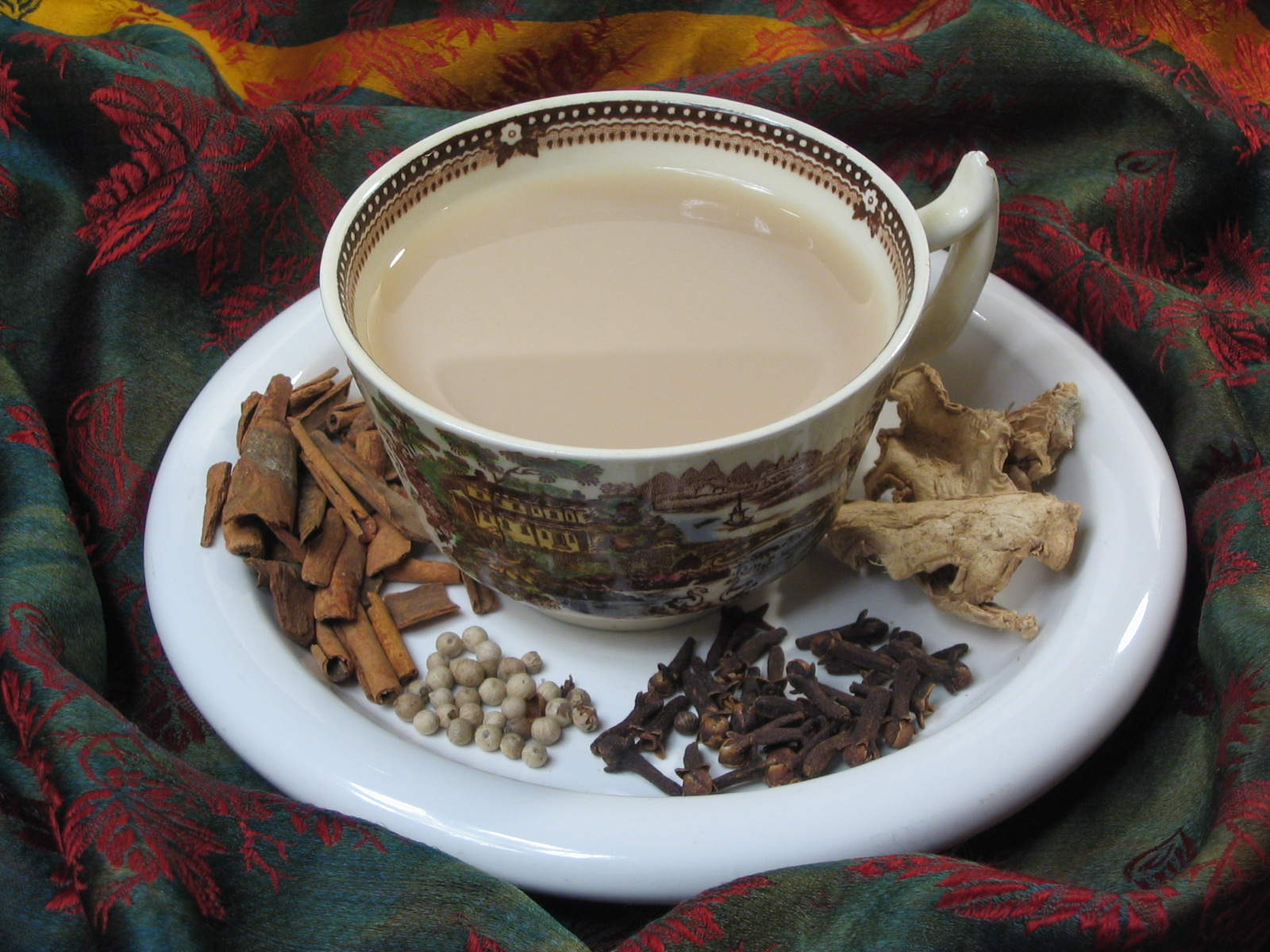 Индийский молочный чай