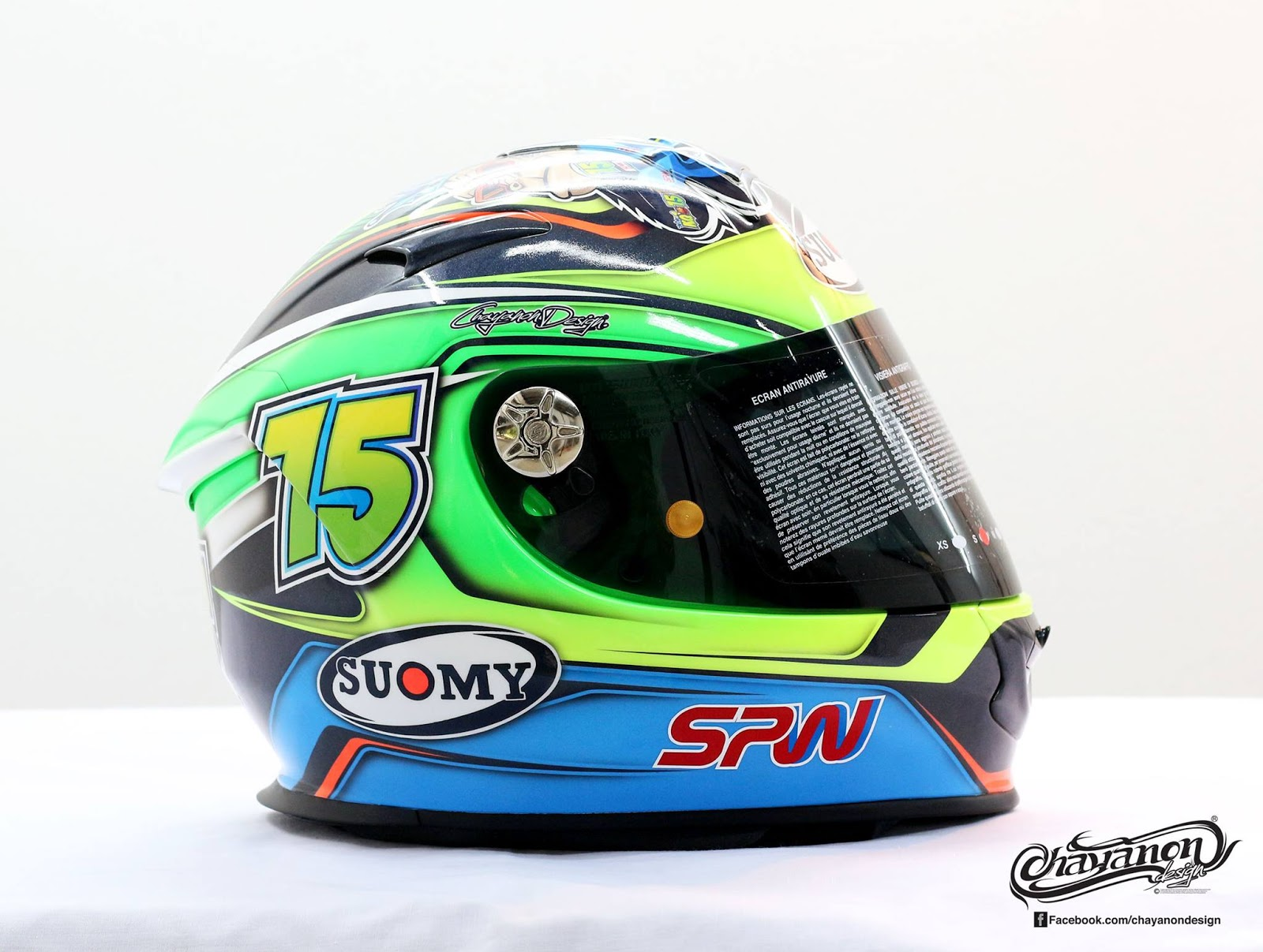 Helm 37 suomy sr sport kingkong concept 2015 by for Helm design