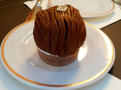 Mont Blanc at Angelina Tea Room and Patisserie Singapore