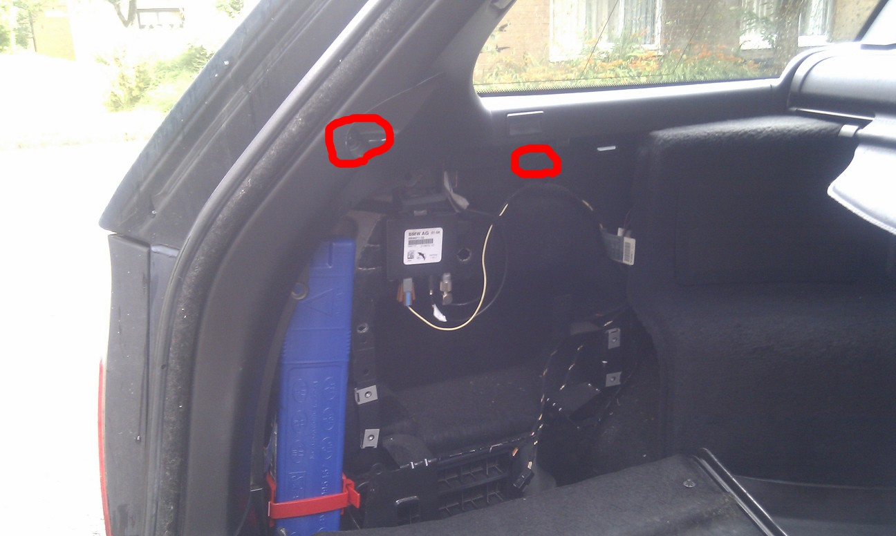 How to Install new speakers into the door panel on a BMW ECar
