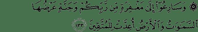Surat Ali Imran Ayat 133