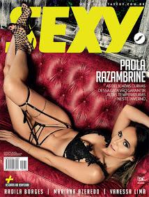 Revista Sexy Julho/2019: Paola Razambrine