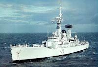 Leander class frigate